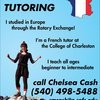 Chelsea tutors French in Charleston, SC