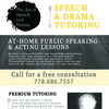 Art of Speech & tutors ACT in Vancouver, Canada
