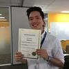 Sam tutors Korean in Brisbane, Australia