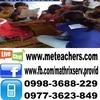 Nhie tutors French in Los Baños, Philippines