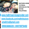 Mathrix tutors ACCUPLACER ESL in Calamba, Philippines