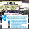mathrix tutors in Dasmariñas, Philippines