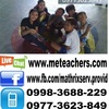 Tee tutors French in Manila, Philippines