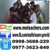 Tob tutors French in Batangas, Philippines