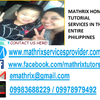 Mathrix tutors AP Spanish Language in Manila, Philippines
