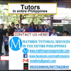 Mathrix tutors Algebra 1 in Manila, Philippines