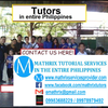 Mathrix tutors in Manila, Philippines